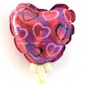 VAL00523-9cm Heart Shape Balloon