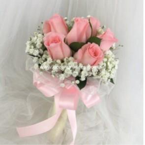 WB07010(Bridal)-ROM-Wedding-6 Pk Roses