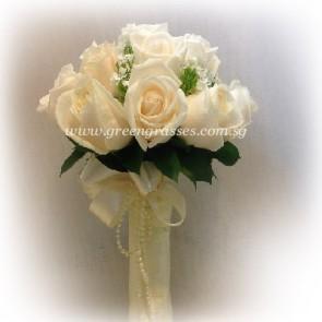 WB09031(Bridal)-ROM-Wedding-9 Wh Rose